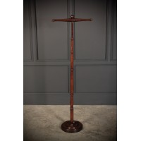 Regency Mahogany Barristers Wig & Cloak Stand