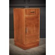 Art Deco Walnut Bedside Cabinet