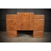 Epstein Art Deco Walnut Cocktail Cabinet