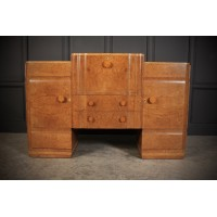 Epstein Art Deco Walnut Cocktail Cabinet