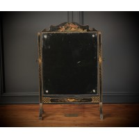 Chinoiserie Lacquered Toilet Mirror