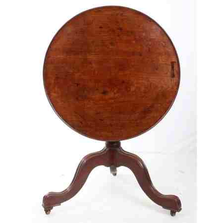 Mahogany tip top occasional table