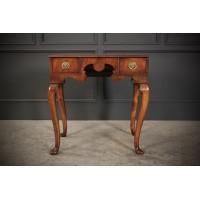 Queen Anne Walnut Lowboy Side Table