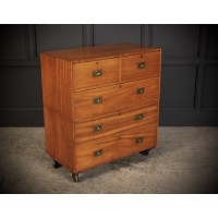 Mahogany Naval Military Campaign Chest