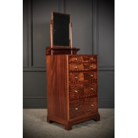 Mahogany Dressing Chest by Maple & Co.