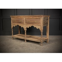 19th Century Light Oak Dresser Sideboard