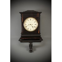 Coromandel Twin Fusee Bracket Clock by W.M.Dodge Manchester