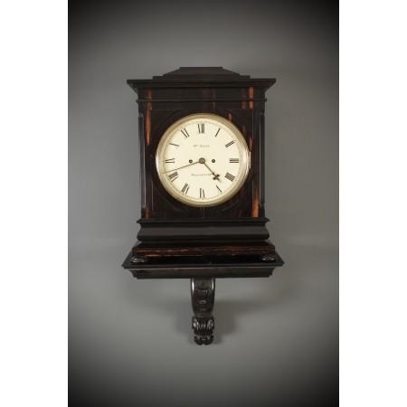 Coromandel Twin Fusee Bracket Clock by W.M.Dodge Manchester