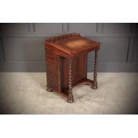 19th Century Rosewood Davenport Desk
