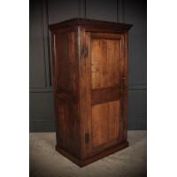 18th Century Slim Oak Wardrobe