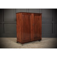 Solid Mahogany Office Filing Cabinet
