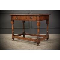 17th Century Walnut Side Table