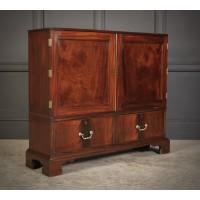 Rare Georgian Fitted Side Cabinet