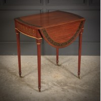 Satinwood Pembroke Table