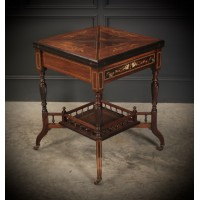 Rosewood Envelope Games Table