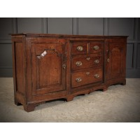 Slim Oak Dresser Sideboard