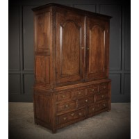 18th Century Oak Housekeepers Cupboard