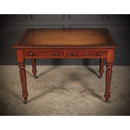 Late Victorian Mahogany Writing Table