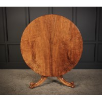 Walnut Breakfast Table By Holland & Sons