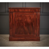 Figured Mahogany Side Cabinet