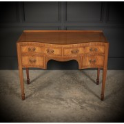 Serpentine Walnut Dressing Table