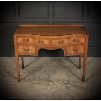 Serpentine Walnut Dressing Table