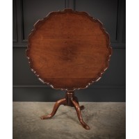 18th Century Pie Crust Table
