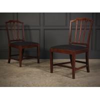 Pair of Georgian Mahogany Chairs