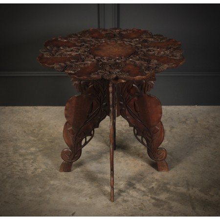 Walnut Kashmiri Table