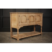 Rustic Light Oak Sideboard