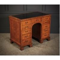 Victorian Pollard Oak Desk