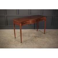 Regency Inlaid Mahogany Hall Table