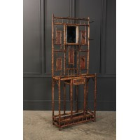 Victorian Bamboo Hall Stand