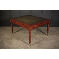 Large Victorian Mahogany  Partners Writing Desk