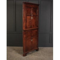 Large 18th Century Oak Corner Cupboard