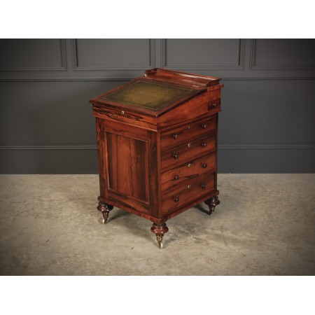 William IV Rosewood Davenport Desk