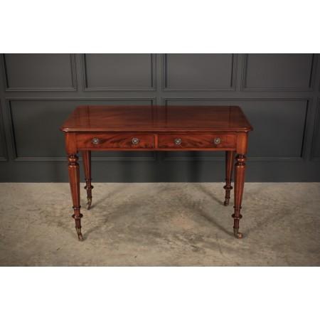 Cuban Mahogany Side Table