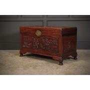 Decorative Chinese Cedarwood Box