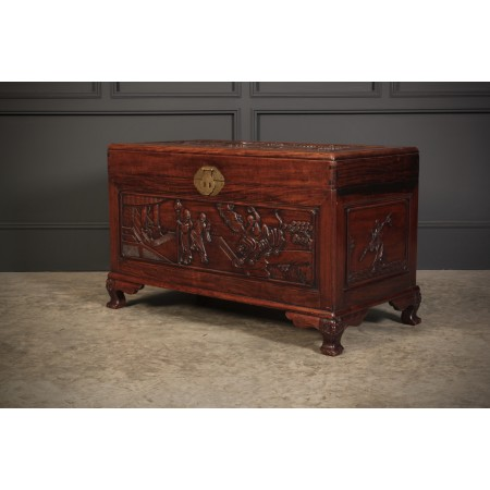 Decorative Chinese Cedarwood Box