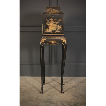Chinoiserie Lacquered Phone Valet