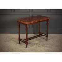 Rosewood Aesthetic Card Table