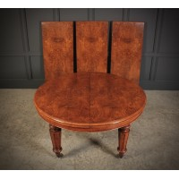 Rare & Exceptional Victorian Pollard Oak Extending Dining Table