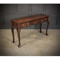 18th Century Oak Hall Table