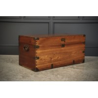 Camphor Wood Military Campaign Trunk