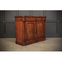 Victorian Mahogany Chiffonier Side Cabinet
