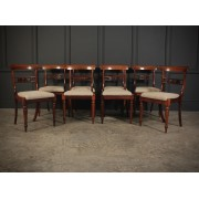 William IV Set of 8 Rosewood Dining Chairs