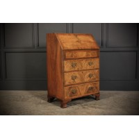 Queen Anne Style Figured Walnut Bureau