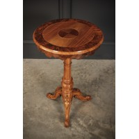 Walnut & Elm Wine Table