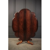 Victorian Shaped Rosewood Centre Table