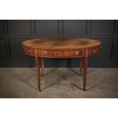 George III Oval Writing Table